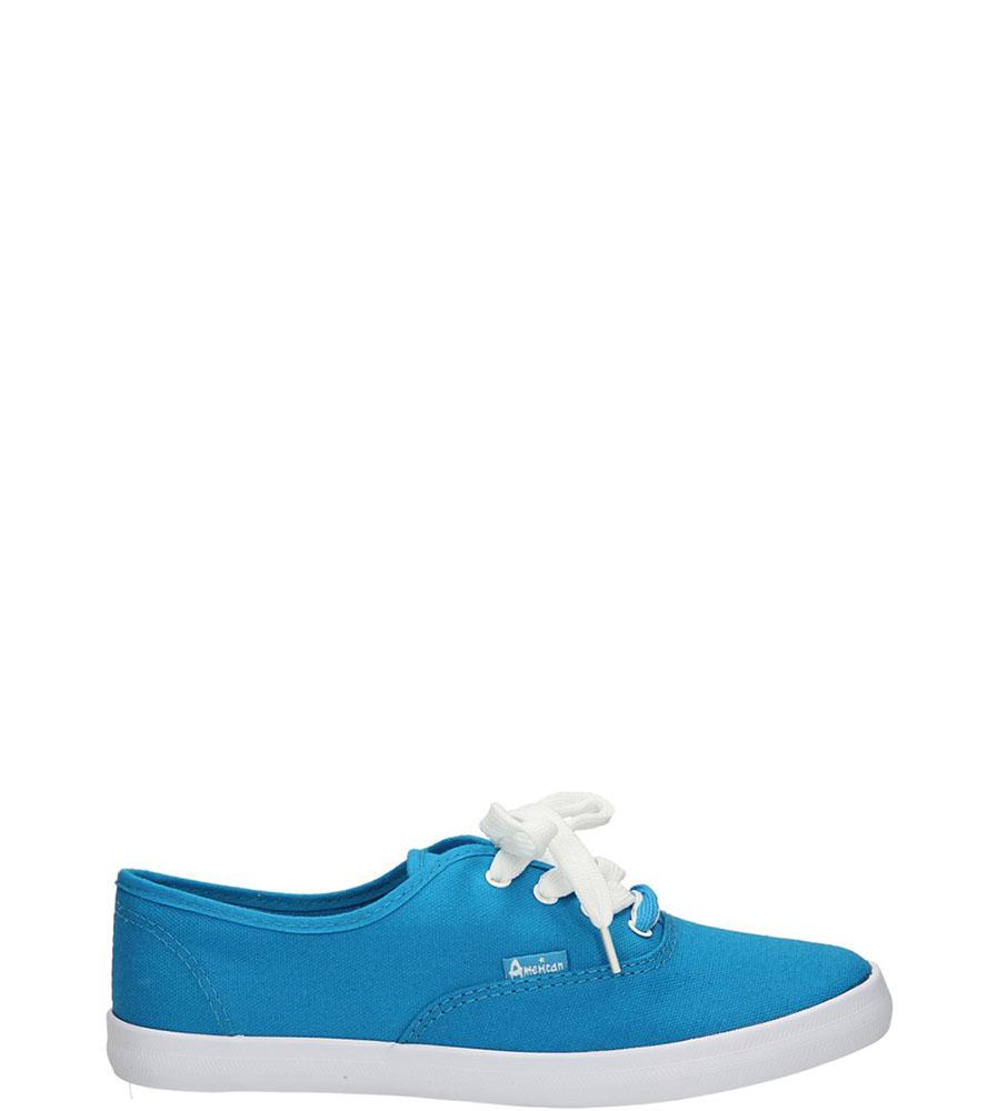 Damskie TRAMPKI AMERICAN LH-2013-61-8 niebieski;biały;