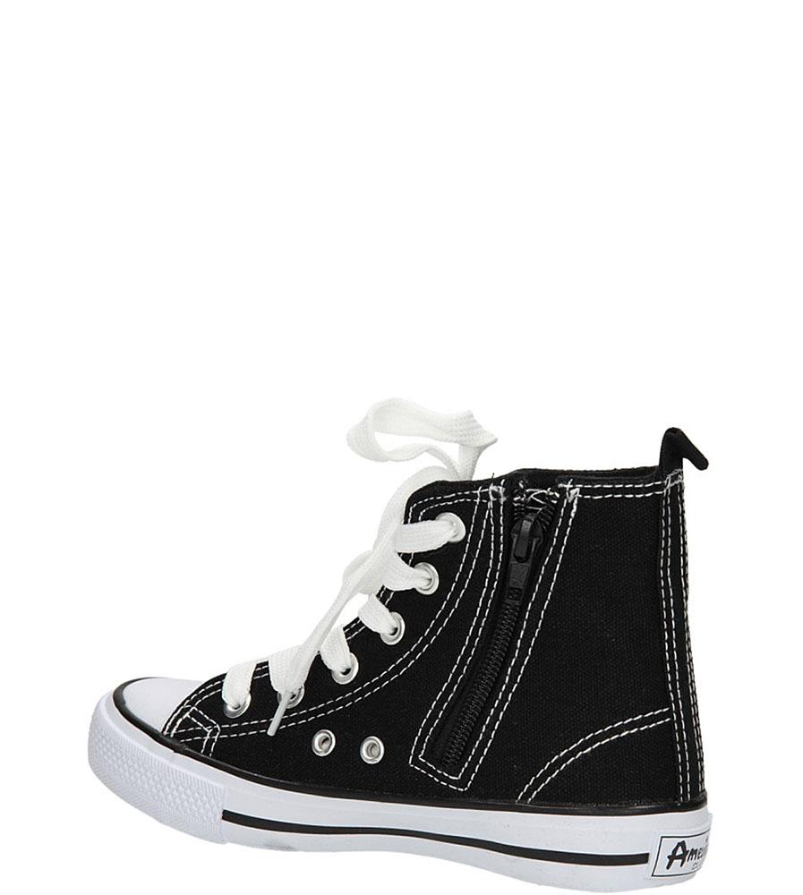 TRAMPKI AMERICAN LH-9120-1/CH kolor biały, czarny