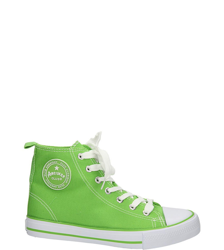 Damskie TRAMPKI AMERICAN LH-9120-2 zielony;;