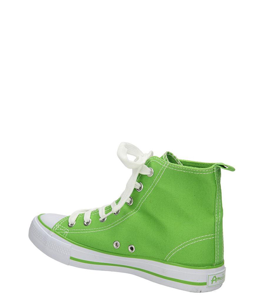 TRAMPKI AMERICAN LH-9120-2 kolor zielony