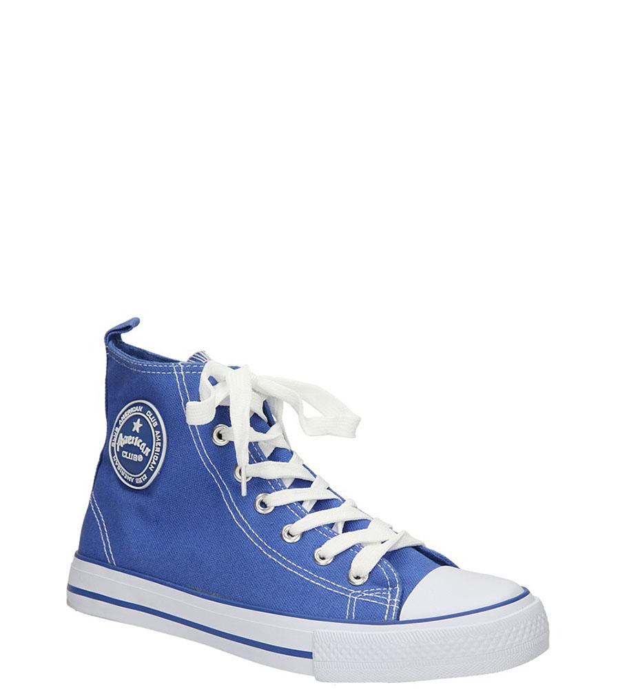 Damskie TRAMPKI AMERICAN LH-9120-5 niebieski;biały;