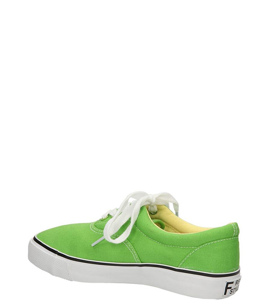 TRAMPKI CASU 412-12 kolor jasny zielony