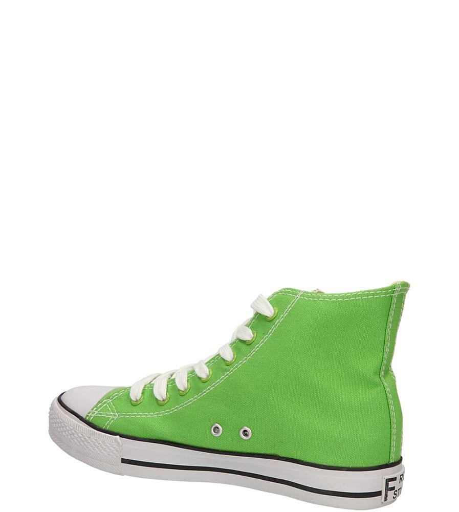 TRAMPKI CASU 415-14 kolor jasny zielony
