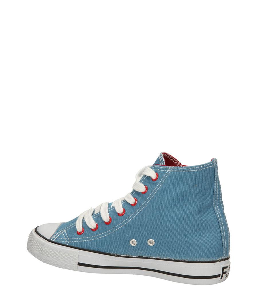 TRAMPKI CASU 4266-7 kolor niebieski