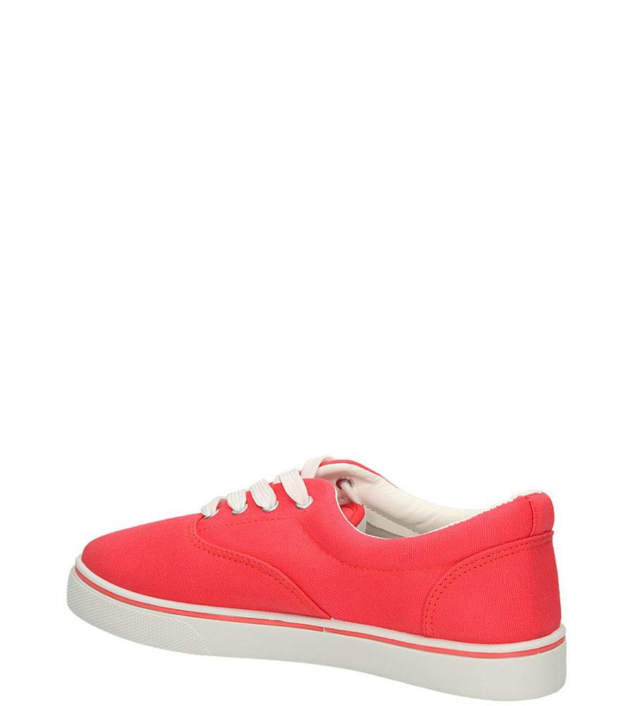 TRAMPKI CASU 7SP-177-RA kolor czerwony