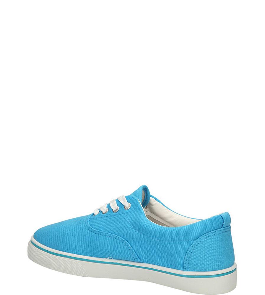 TRAMPKI CASU 7SP-177-RA kolor niebieski