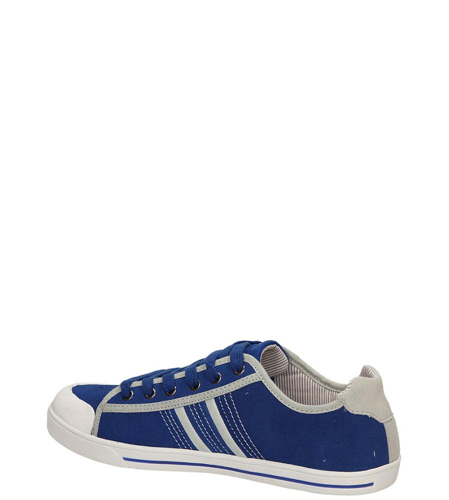 TRAMPKI MCKEY R14-M-SP-165-RO kolor niebieski