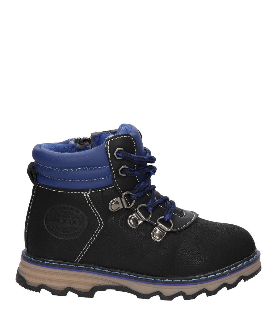 Dziecięce TRZEWIKI 3XC7019-W czarny;niebieski;