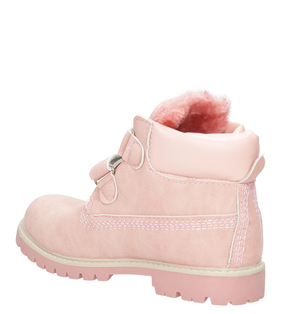 Trzewiki Casu 85C kolor różowy
