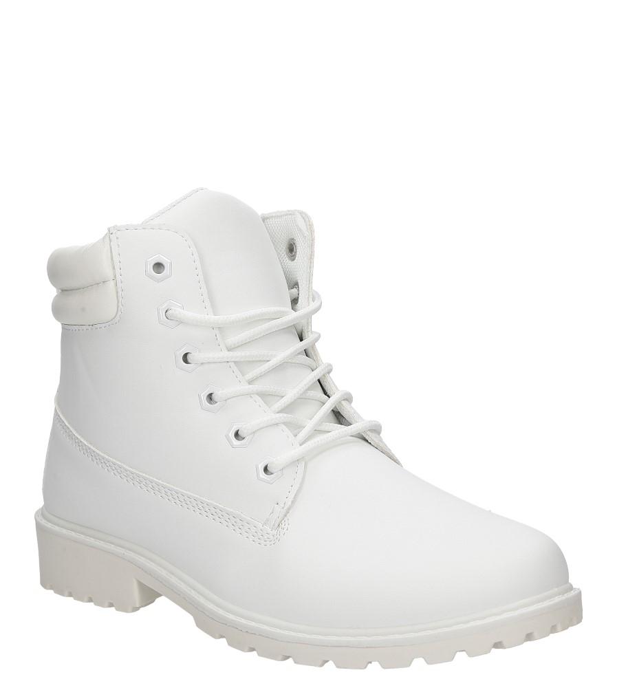 Damskie TRZEWIKI CASU BL81 biały;;