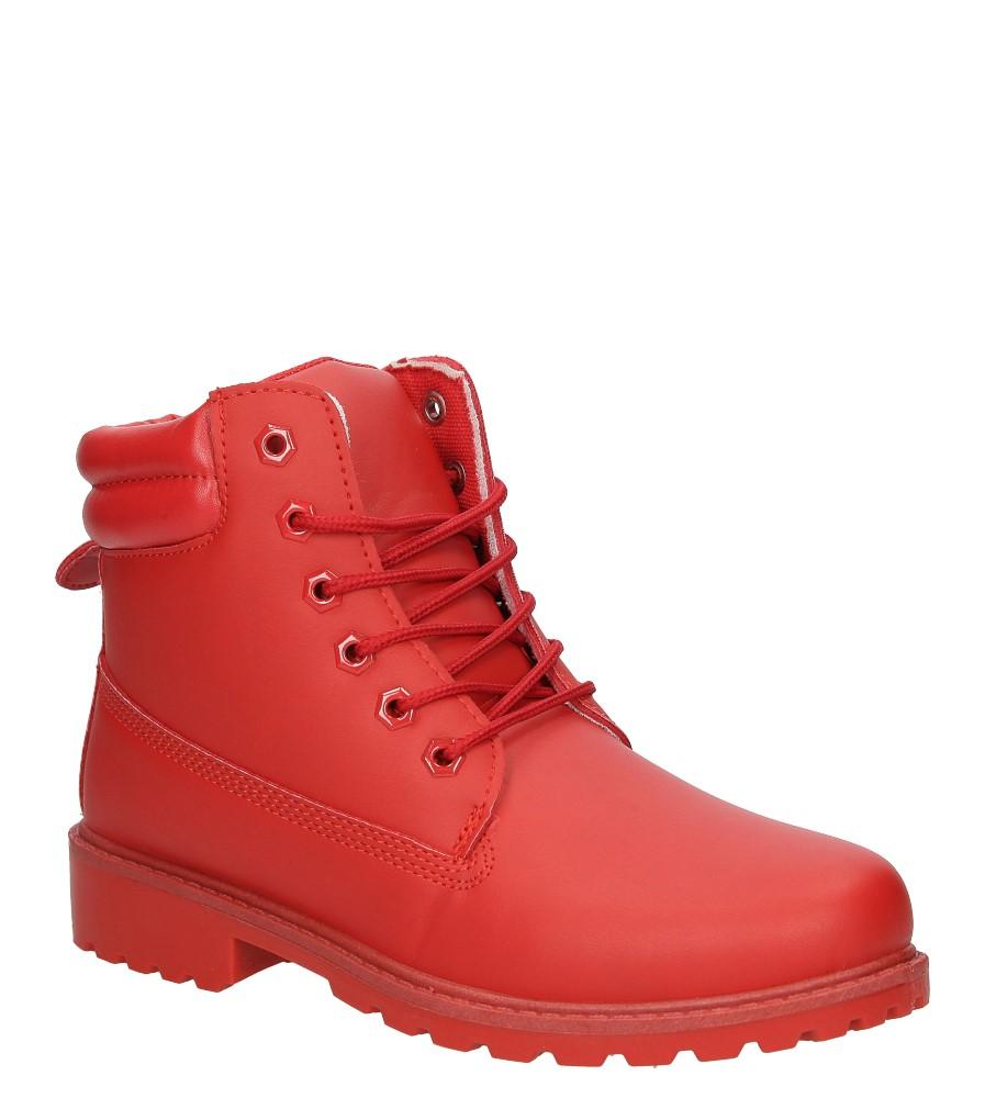 Damskie TRZEWIKI CASU BL81 czerwony;;