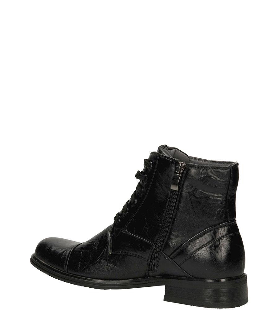 TRZEWIKI CASU R43326-226 kolor czarny