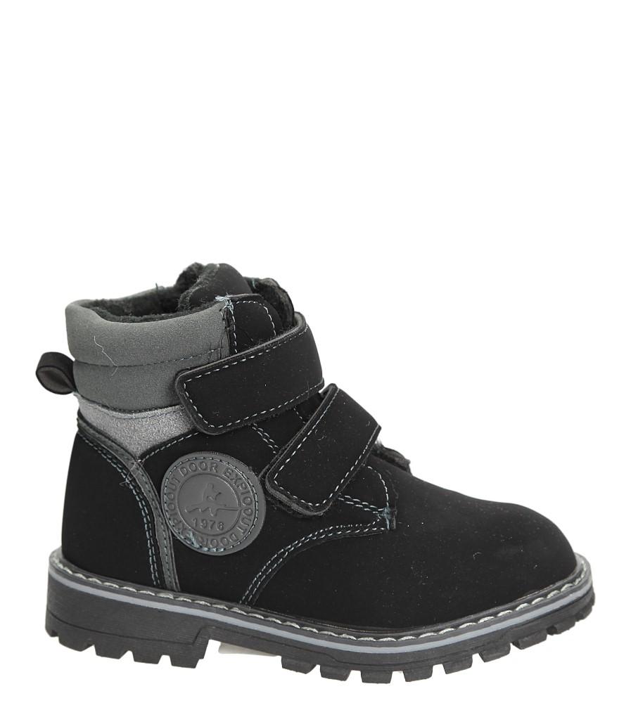 Dziecięce Trzewiki Casu T801D czarny;;