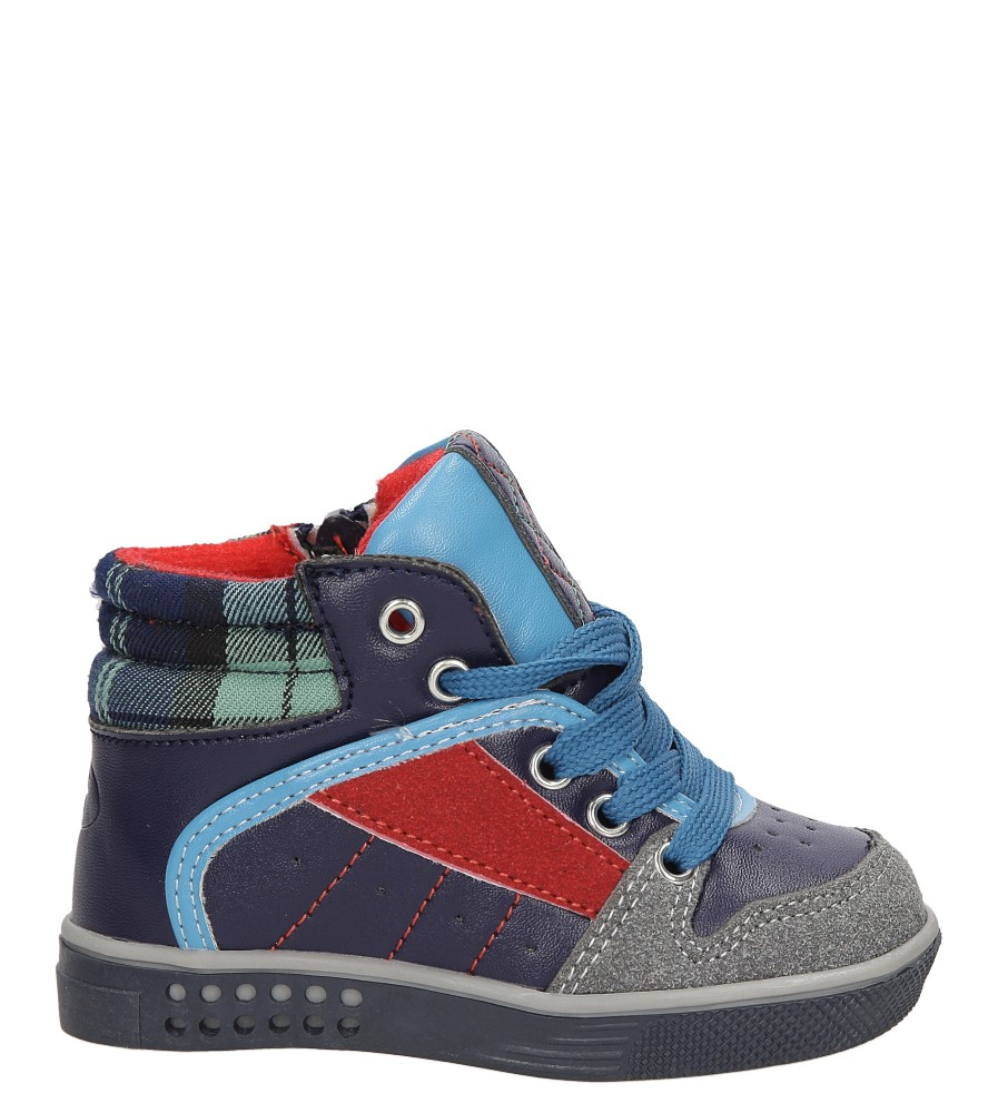 Dziecięce TRZEWIKI HASBY HAS-S2002 niebieski;;