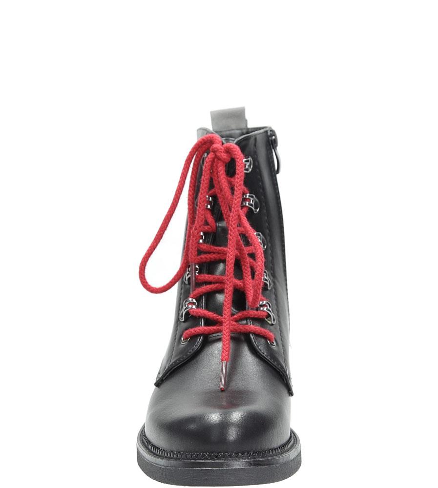 Trzewiki Sergio Leone BT0540 kolor czarny