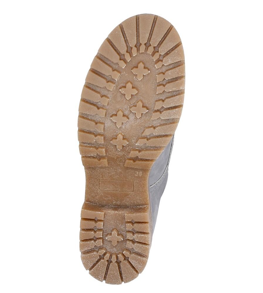 Trzewiki z nubuku sznurowane Nessi 17305/O wys_calkowita_buta 17.5 cm