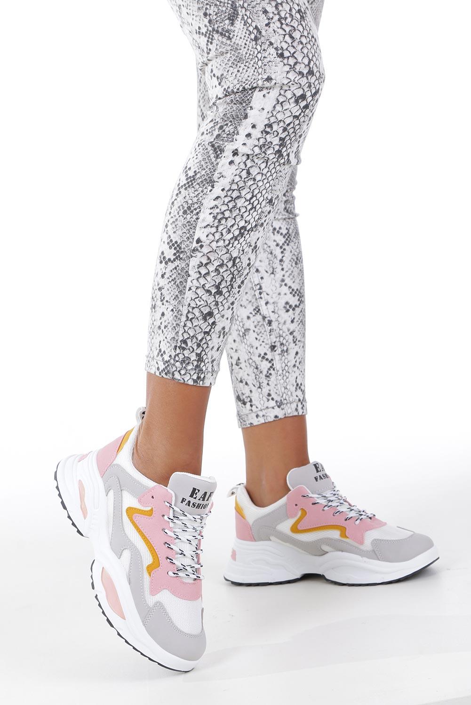 Wielokolorowe buty sportowe sneakersy sznurowane Casu C08 multi kolor