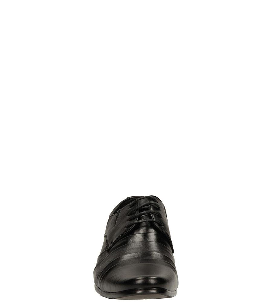 Wizytowe Casu MXC182 kolor czarny