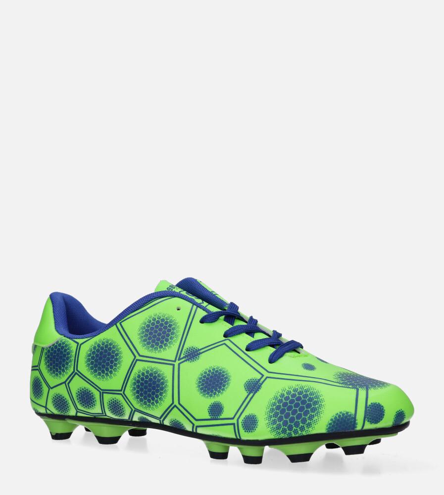 Zielone buty sportowe korki sznurowane Casu 168 producent Casu