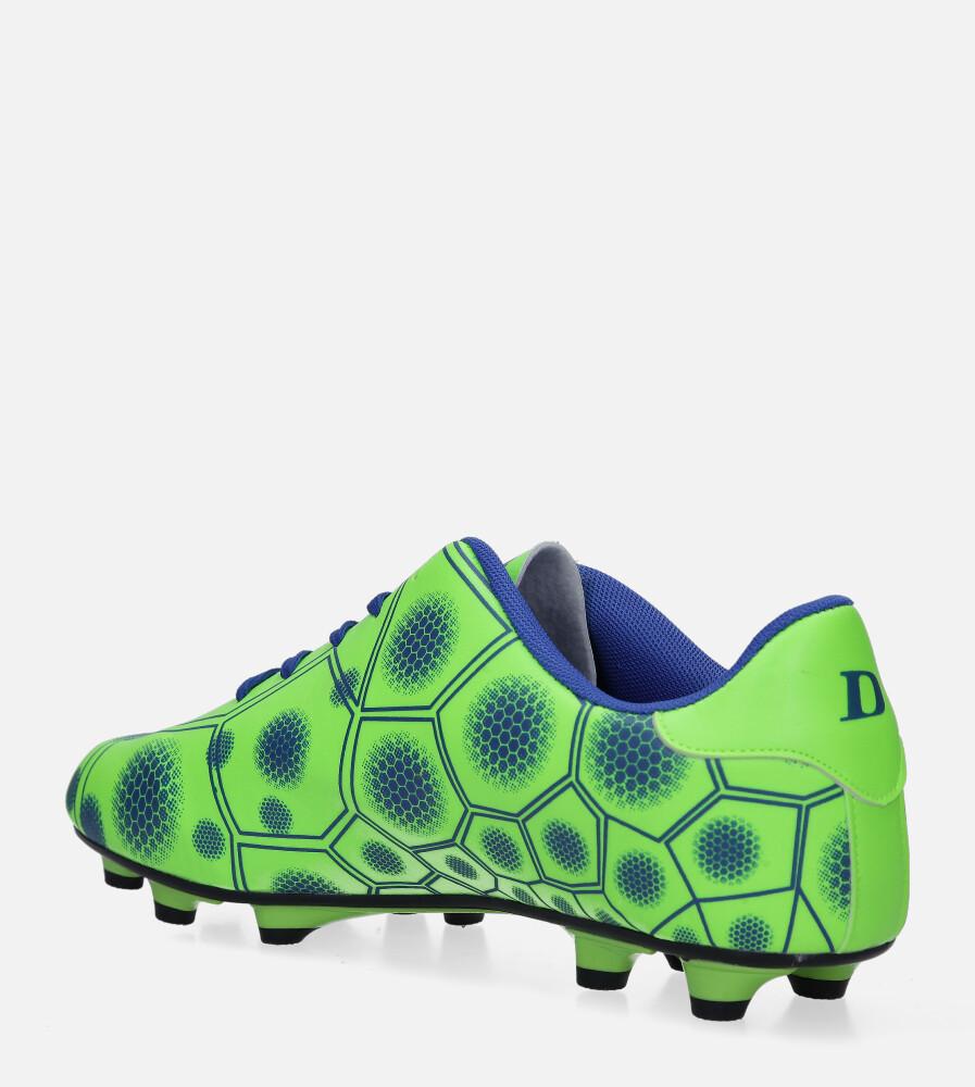 Zielone buty sportowe korki sznurowane Casu 168 sezon Całoroczny