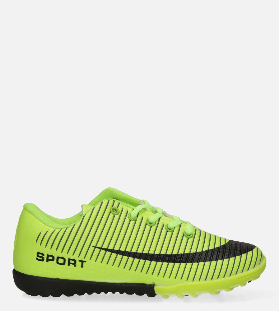 Zielone buty sportowe orliki sznurowane Casu 20M2/M model 20M2/M