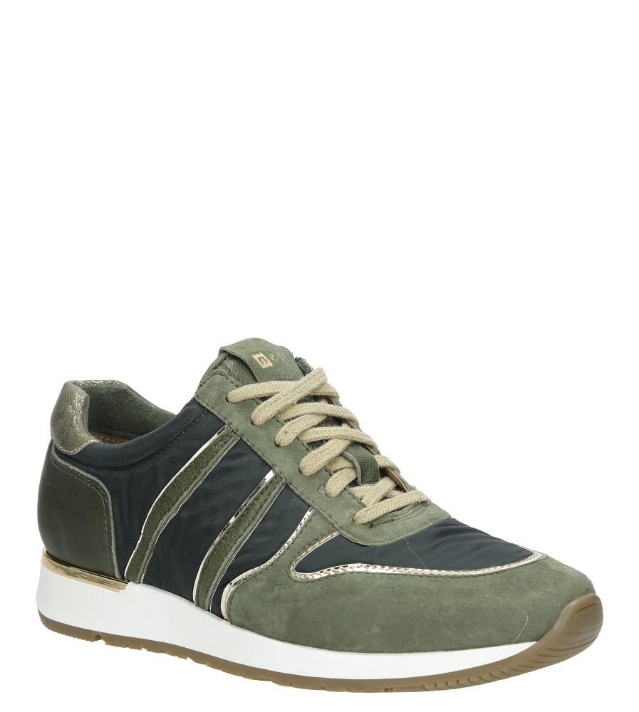 Zielone buty sportowe skórzane Nessi 17214 zielony