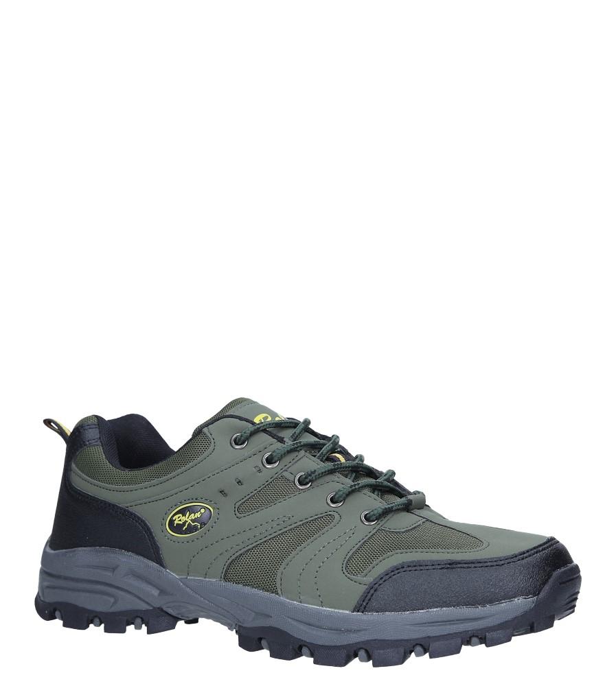 Zielone buty sportowe sznurowane Casu 78003