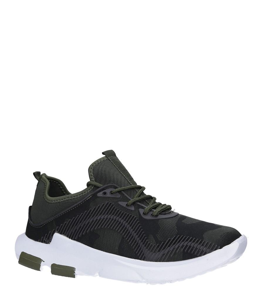 Zielone buty sportowe sznurowane Casu LF21-3 producent Casu