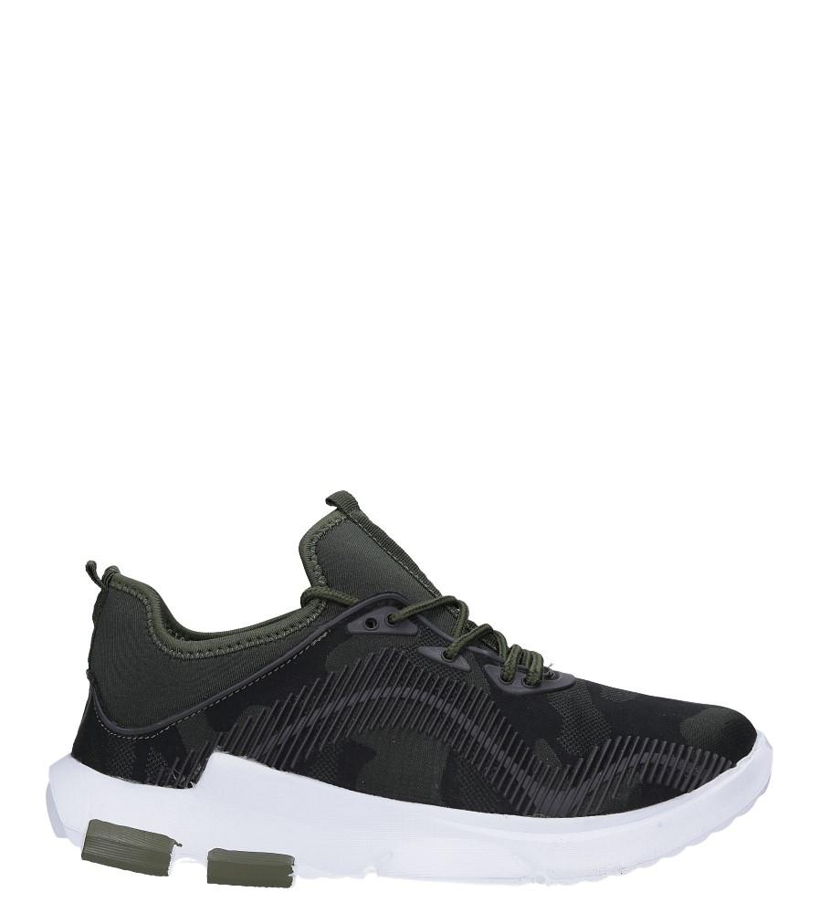 Zielone buty sportowe sznurowane Casu LF21-3