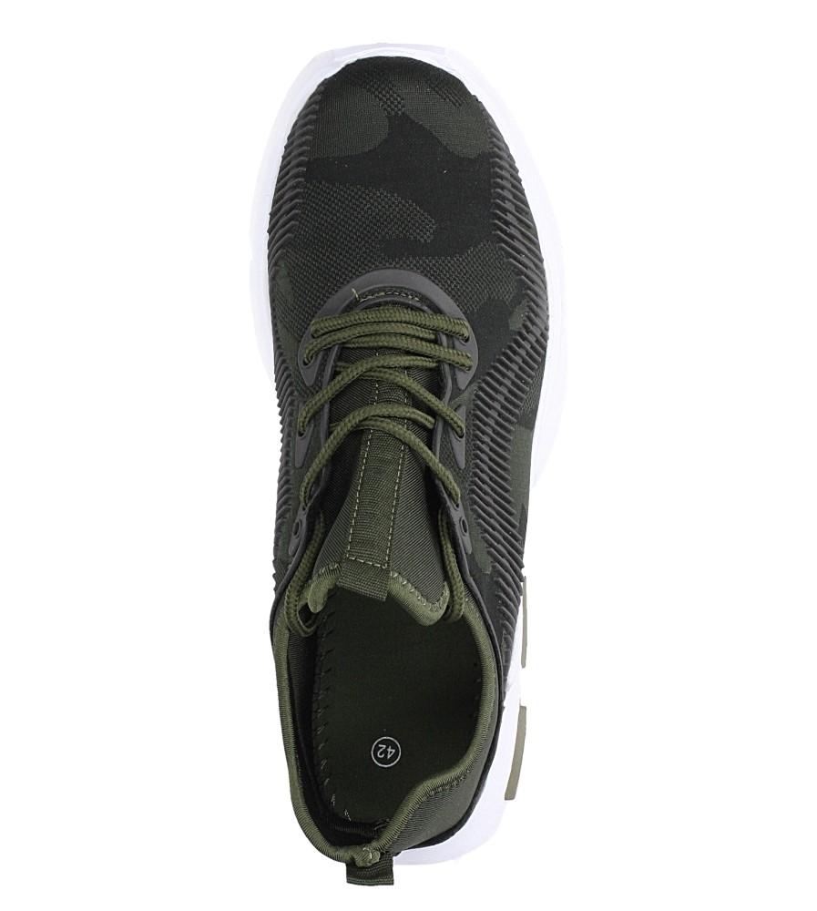 Zielone buty sportowe sznurowane Casu LF21-3 wys_calkowita_buta 13 cm