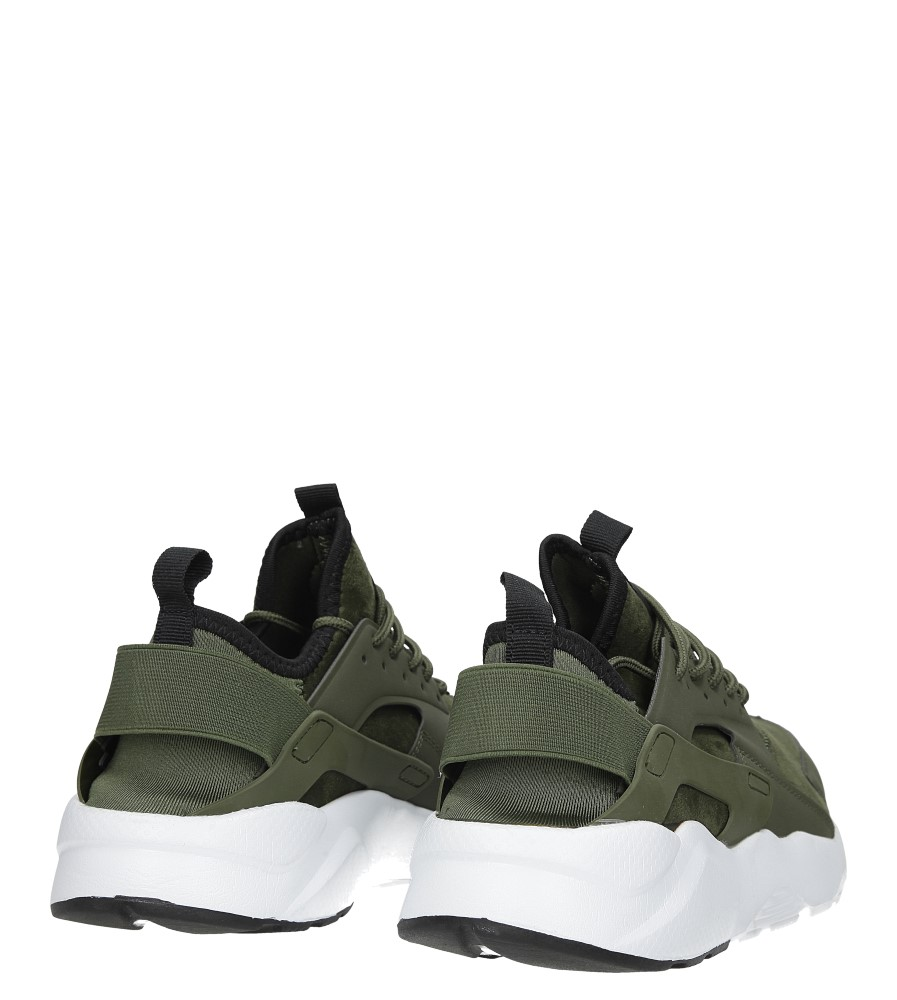 Zielone buty sportowe sznurowane moro Casu U8102-6 kolor zielony
