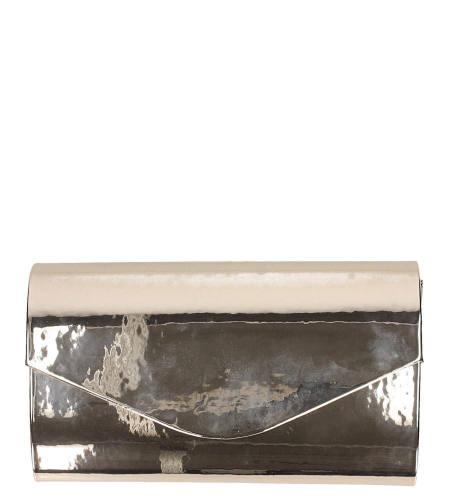 Złota torebka wizytowa lustrzana Casu R20B