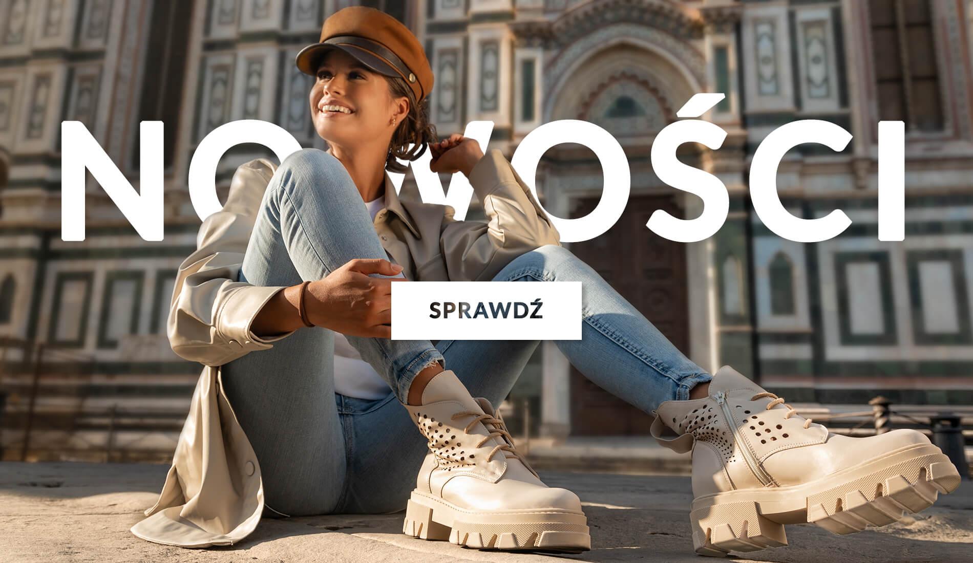Jesienne nowości 2021 - Obuwie damskie - sklep Casu.pl