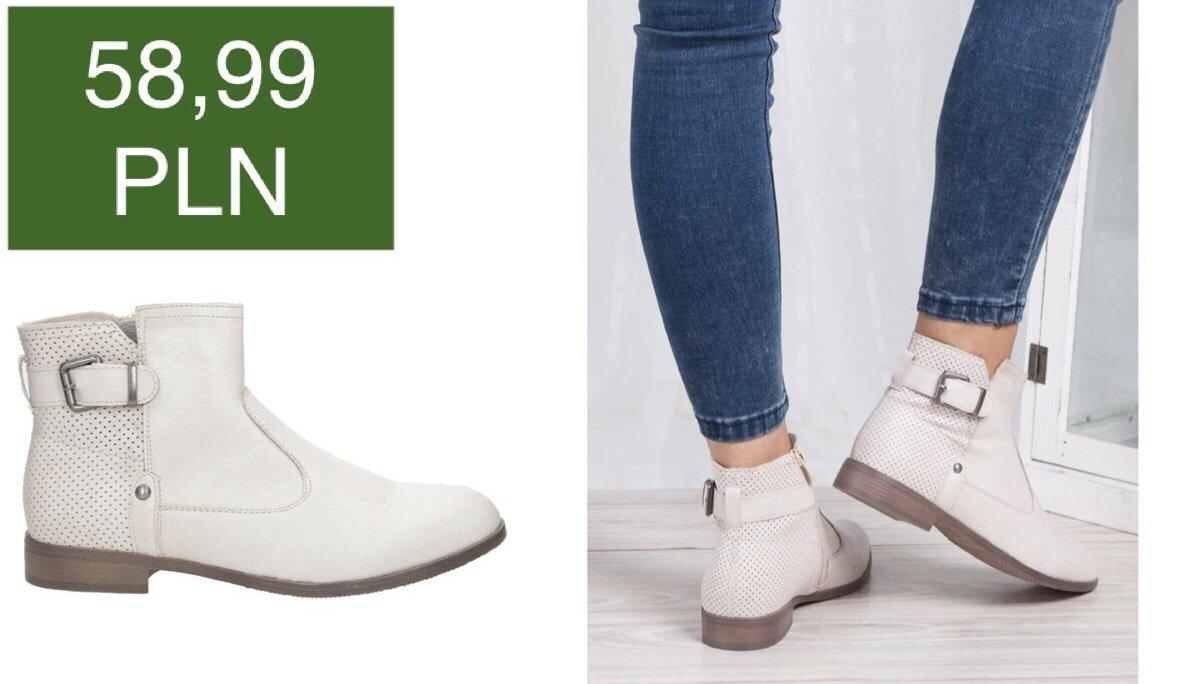 botki wiosenne kolekcja 2018 sklep Casu