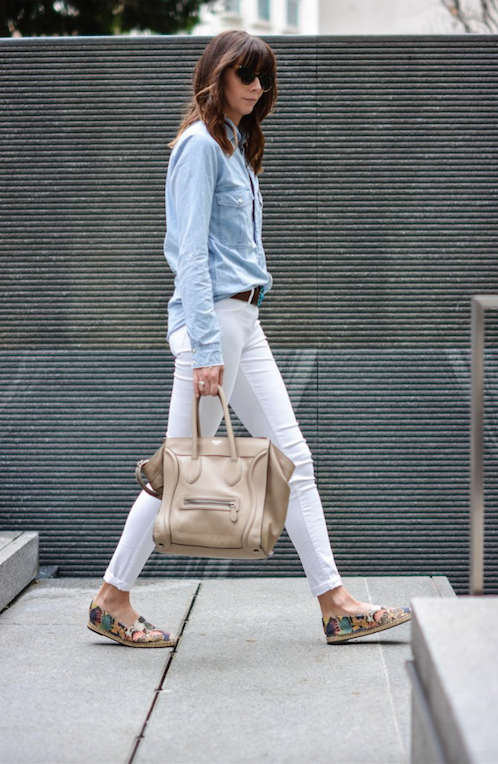 Casu modne obuwie espadryle elegancki strój