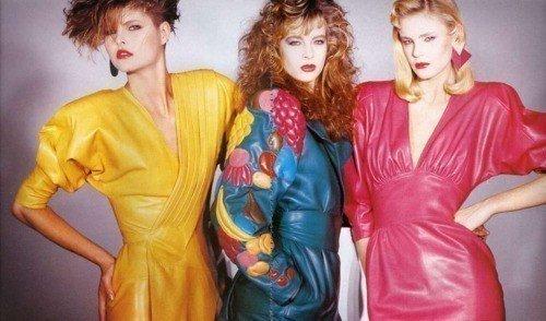 moda lat osiemdziesiątych sklep Casu