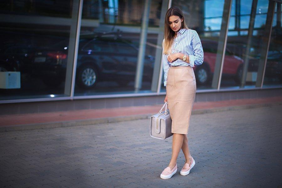 buty biurowe stylizacja Casu