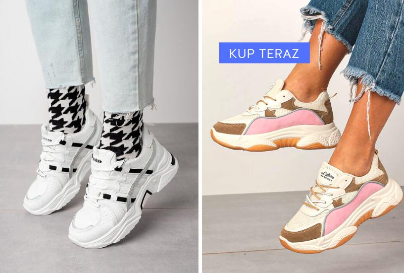 Sneakersy - Buty sportowe wiosna 2020