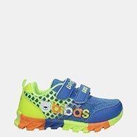 Chłopięce Niebieskie Buty Sportowe Na Rzepy Casu 3-6001-1