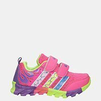 Dziewczęce Różowe Buty Sportowe Na Rzepy Casu 3-6003 Casu