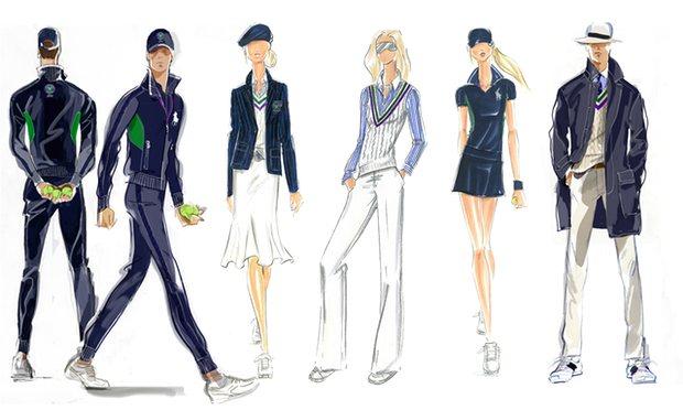 moda na kortach wimbledon