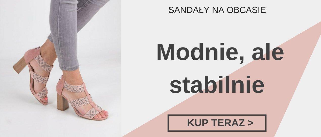 sandały na niskim i wysokim obcasie Casu.pl