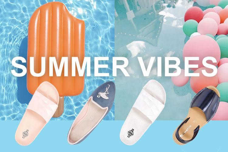 letnie buty na wakacje 2017